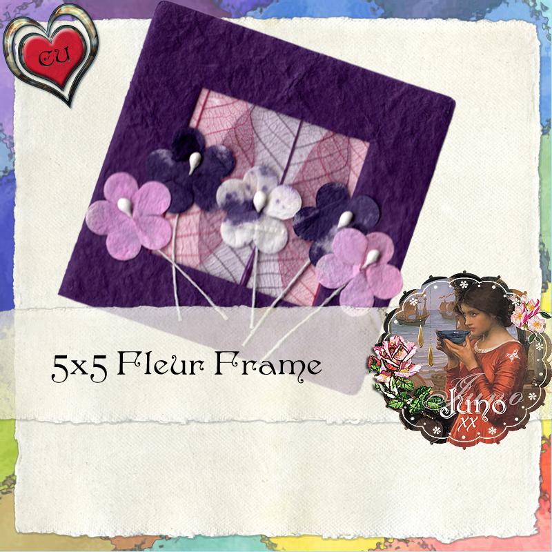 juno CU Freebie Fleur Frame Juno-cu-fleur-frame