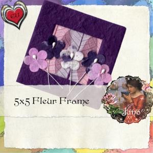 juno CU Fleur Frame