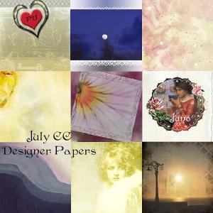 juno July CC Designer Papers