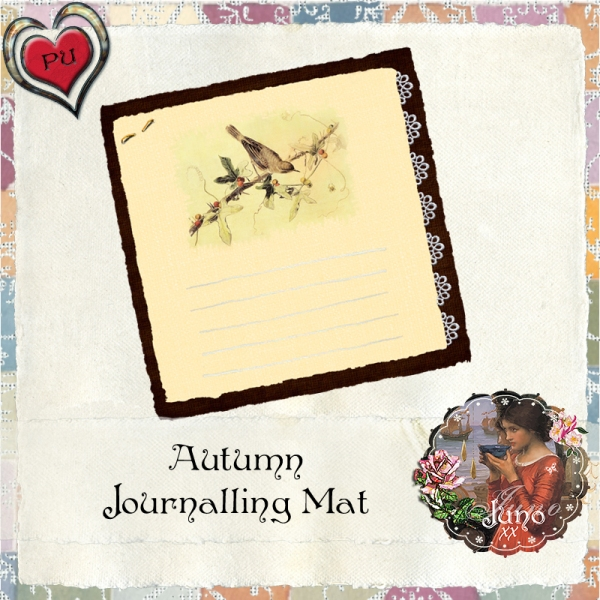 juno Autumn Journalling Mat
