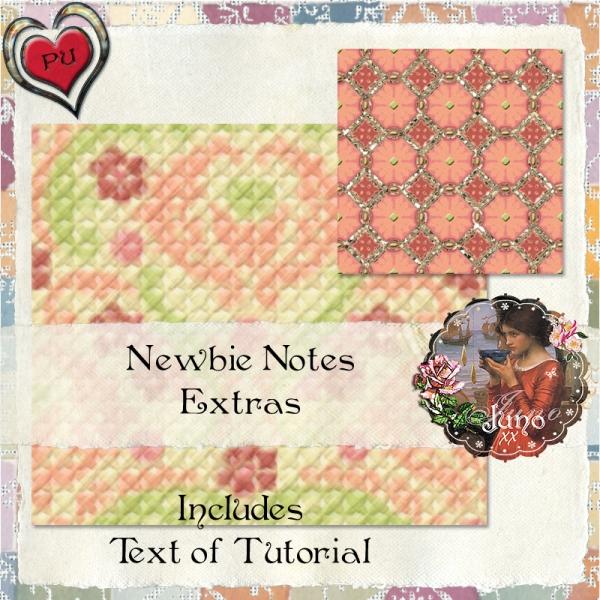juno Newbie Notes Extras