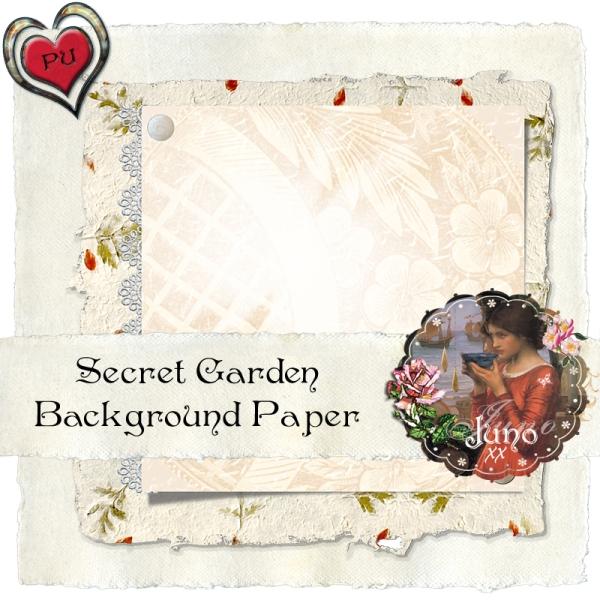juno Secret Garden Paper