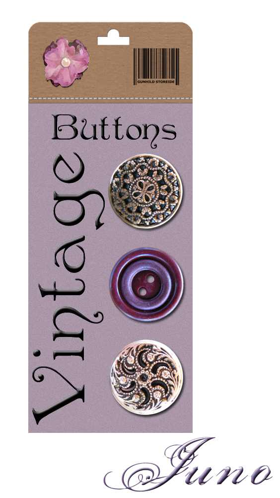 juno Vintage Buttons