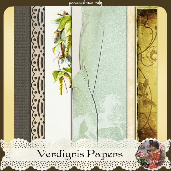 juno Verdigris Papers