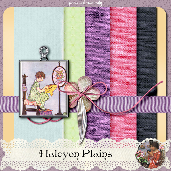 "Free scrapbook ""Halcyon: Plains"" by Junosplace"
