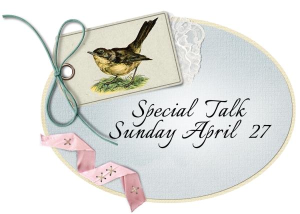 5x7 Oval Special Talk