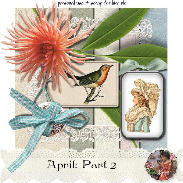 "Free scrapbook ""April: Part 2"" by Junosplace"