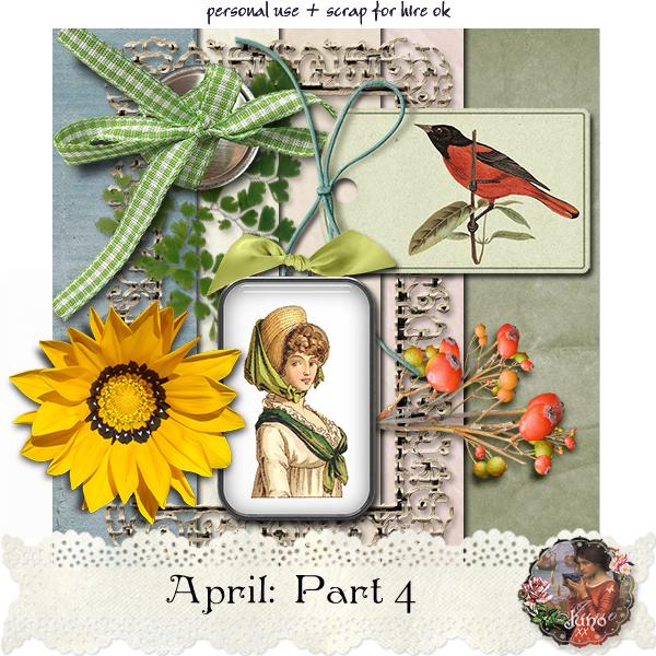 "Free scrapbook ""April: Part 4"" by Junosplace"