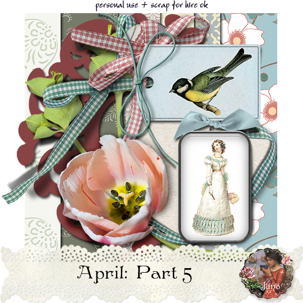 "Free scrapbook ""April: Part 5"" by Junosplace"