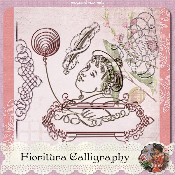 _juno Fioritura Calligraphy