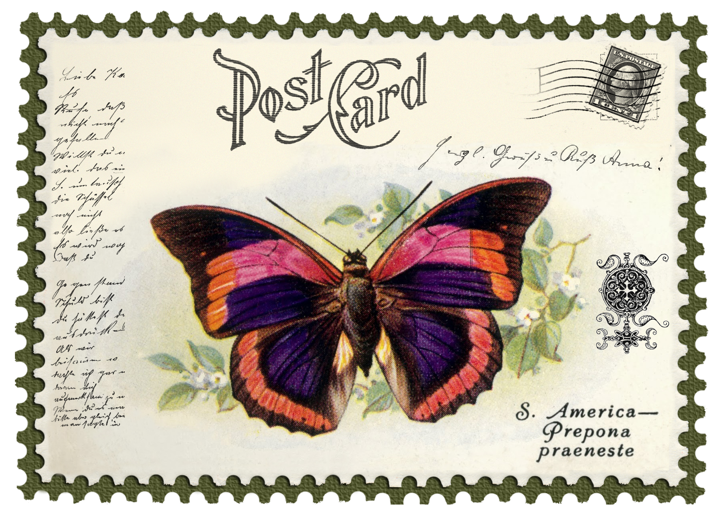 Vintage stamps freebies