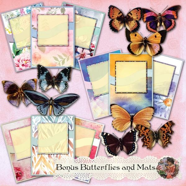 juno Bonus Butterflies and Mats